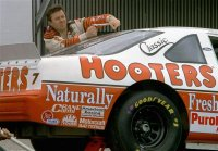 1992 7 Hooters Ford Rear.jpg