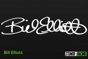 Bill Elliott Signature