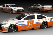Fictional #19 2015 Carl Edwards Arris Throwback Toyota