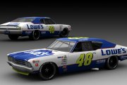 #48 Jimmie Johnson Lowe's GN69 Chevelle