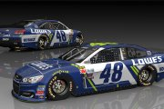 Jimmie Johnson #48 2017 Scheme