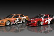 #34 Team Dodge Charger Vehicles (based on 2006 BHR Trucks)