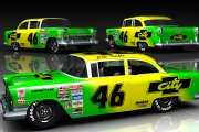 GN55 #46 City Chevy - Days of Thunder