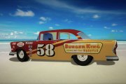 GN55 #58 Burger King 1956 Dodge