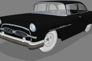 GN55 1955 Toyota Crown Template