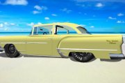 GN55 1954 Chrysler New Yorker template layers