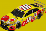 2021 Kyle Busch #18 M&Ms Red Nose Day Camry | Richmond 1