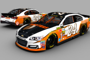 "#24 Gen 6 Chevy ""Hooters"" Fictional"