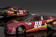 2018 Alex Bowman Advanced Auto Parts Fictional