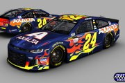 William Byron #24 2018 Axalta Camaro