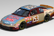 #153 Levi Strauss Signature Chevrolet Monte Carlo (NASCAR 2005 re-imagining) (WinstonCup98)