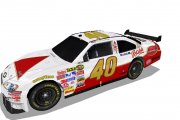 Winged #40 Bass Ale Cup Car