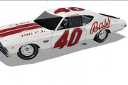 #40 Bass Ale Cup Car 1970