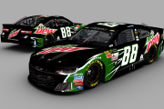 2018 Alex Bowman Mtn Dew Fictional