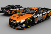 [Fictional] 2017 Dale Jr 88 Nationwide Halloween Chevy (inverted colors)