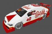 40 Bass Ale Brazil V8 Stock car