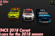 2018 MENCS Carset (26 Cars)