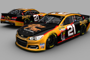 2018 South Point Daniel Hemric Chevy (Gen6 Fictional)