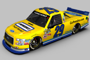 2017 #29 Chase Briscoe Penske Throwback Fictional