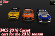 2018 MENCS Carset (37 Cars)