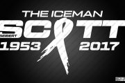 The Iceman Ribbon Logo