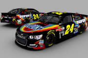 BR15 Gen6 Jeff Gordon #24 Dupont Chevrolet Fictional