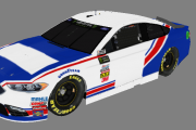 2017 NASCAR Monster Energy Cup Series Blaney Throwback Base (V. 1.0)