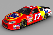 (Original Cup Mod) Retro 1987 #17 Darrell Waltrip Tide Chevrolet
