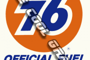 Vintage Unocal 76 Official Fuel of NASCAR Contingency Decal