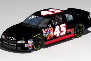 #45 Ken Schrader Unsponsored Chevy (Winston West)