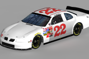 #22 St. James Davis Unsponsored Pontiac (Winston West)
