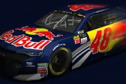 Jimmie Johnson 2019 Red Bull Camaro SS - FICTIONAL-