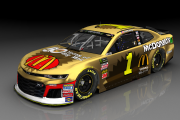 Darlington Throwback 4 Car Set 1, 41, 4, 17