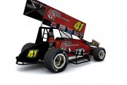 Jason Johnson's #41 2018 Sprint Car (World of Outlaws)