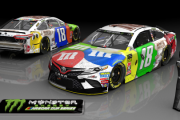 2018 Kyle Busch Bristol Car (Includes Raced Version) (Both .tga Files)