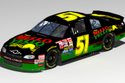 Days of Thunder Cole Trickle Mello Yello Chevrolet #51 (Cup98 Mod)