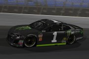 MENCS18 Kurt Busch Monster Energy Chevy Camaro Concept
