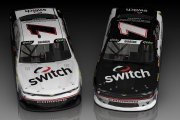 NXS17 Noah Gragson Fictional Switch Chevy Camaro Concept 2-Pack