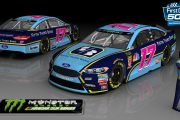 MENCup2018 - Ricky Stenhouse Jr. - Fifth Third Bank w/ Pink Numbers (MAR2)