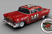 GN55 Hershel McGriff #141 1957 Chevy