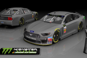 2019 Ford Mustang Template (MENCS18)