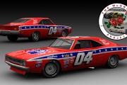 GN70v2.5 Hershel McGriff #04 Plymouth Road Runner (stars and stripes version)