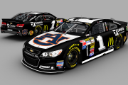 Gen6BR - Jamie McMurray 2013 Talladega Race Winning car