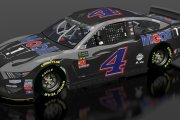 4-Kevin Harvick Mobile 1 Black