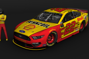MENCup2019 - Joey Logano - Shell Pennzoil