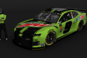 MENCup2019 - Chase Elliott - Mountain Dew