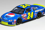 2002 Jeff Gordon Pepsi/Dupont Talladega car for CUP98