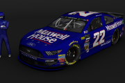 Retro 1991 Sterling Marlin #22 Maxwell House Ford (MENCS2019 Mod)