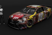 Kyle Busch 2019 M&M's Chocolate Bar Car (.tga)