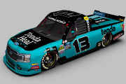 2019 #13 Johnny Sauter Tenda Heal Ford F-150